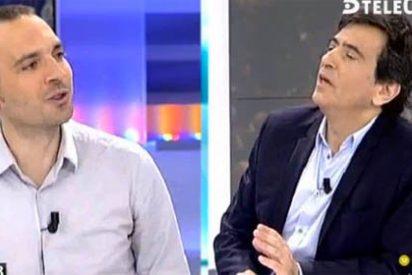 """Arcadi destroza a Alegre: """"La única emergencia social es que tenemos que soportar la basura de Podemos"""""""
