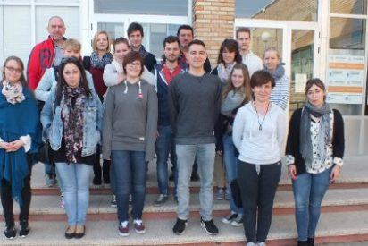 Estudiantes de fisioterapia alemanes realizan prácticas en la comarca de la Serena