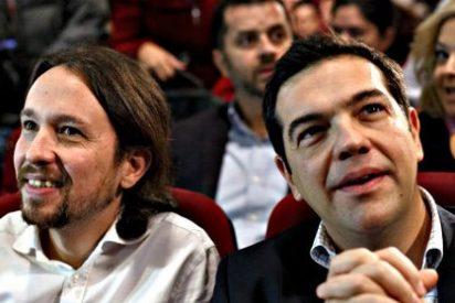 Los 'adanes' de Podemos pagaron 6.000 euros para traer a España a Tsipras para un congreso