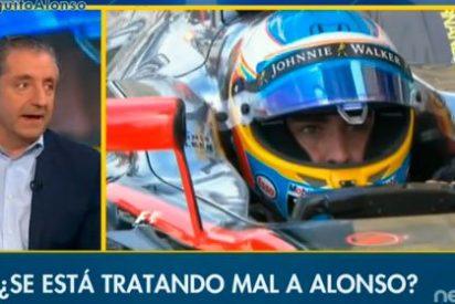 Un sector de la audiencia de 'El Chiringuito' pone el grito en el cielo por hablar de Fórmula Uno