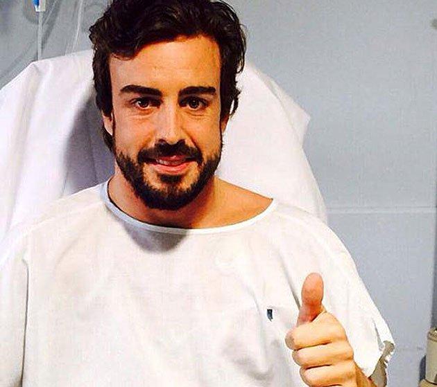 Fernando Alonso despertó del accidente creyendo estar en 1996... y sólo reconocía a su padre