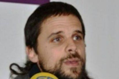El secretario general de Podemos Extremadura, Álvaro Jaén, participa este sábado en Zafra