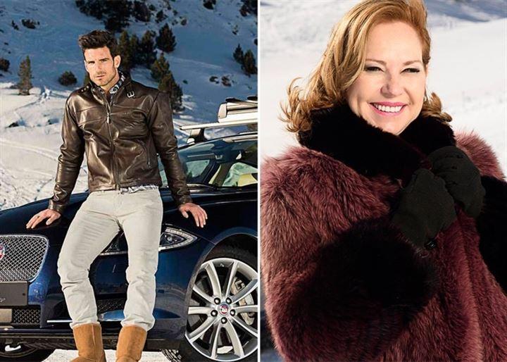 Ana Rodríguez y Aitor Ocio viajan a Andorra para probar los Jaguar AWD