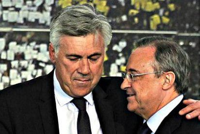 """Florentino Pérez a Carlo Ancelotti: """"Ni una más, si el Real Madrid la pifia con el Barça, te vas"""""""