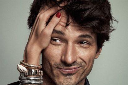 Andrés Velencoso portada de Elle