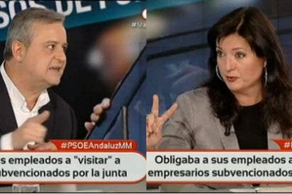 Beaumont le mete una andanada a Mari Pau Domínguez por criticar a Telemadrid...¡en Telemadrid!