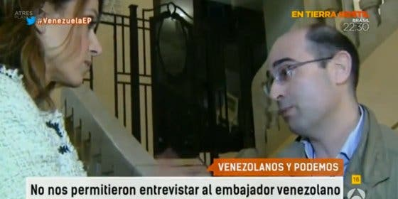 """Antonio José Chinchetru (PD): """"El título de la exposición era 'la Venezuela real' y, echándonos, resultó cierto"""""""