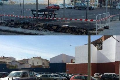 Finalizada la mejora del aparcamiento del Hospicio de Don Benito