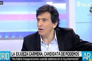 """Arcadi Espada saca la vena marcial con Podemos: """"La beligerancia contra ellos es una obligación casi patriótica"""""""