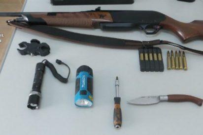 Sorprendidos por la Guardia Civil dos presuntos furtivos en la provincia de Badajoz