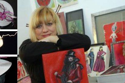 Natacha Arranz: Una española en la exposición se sombreros de Londres con motivo de la película Alicia en el país de la maravillas de Tim Burton