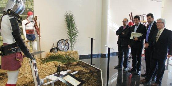 Una exposición en el Museo Abierto de Mérida recrea la vida de la antigua Emérita