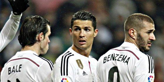 """Ancelotti defiende a sus delanteros, más en crisis que nunca: """"Tengo total confianza en la BBC"""""""