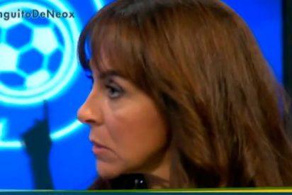 """Carme Barceló se mofa de Sergio Ramos por decir que la ilusión antes del gol de Lisboa """"estaba derrochada por los suelos"""""""