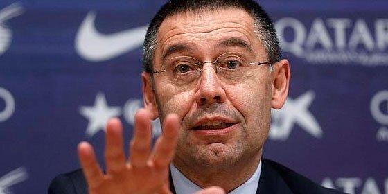 La Fiscalía solicita dos años y tres meses de cárcel para Josep María Bartomeu