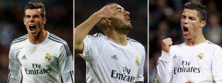 La 'BBC' se ha quedado sin pólvora y Cristiano Ronaldo ni ha tirado a puerta en 4 de sus últimos 8 partidos