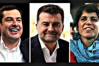El PSOE se queda a ocho escaños de la mayoría absoluta y Susana Díaz queda obligada a pactar en precario con Podemos o Ciudadanos