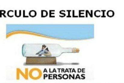 """Cáritas Coria Cáceres promueve """"El Círculo del Silencio, por la trata de personas"""""""