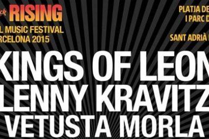 Juanes, Lenny Kravitz y Steve Angelo en el festival Hard Rock Rising de Barcelona