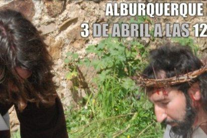 """La localidad pacense de Alburquerque celebra la """"XVI Pasión Viviente"""""""