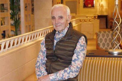 """Charles Aznavour: """"Desde que era joven sabía que quería ser abuelo"""""""