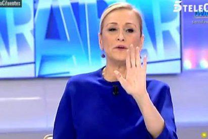 """Cifuentes empieza su campaña contra Podemos: """"La casta somos nosotros, pero los que tienen los euros en la cuenta corriente son ellos"""""""