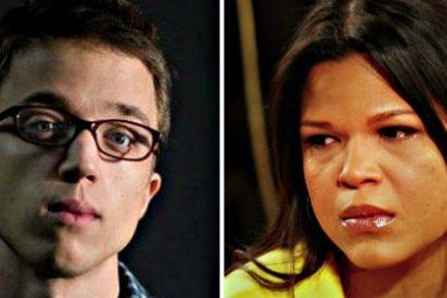 El podemita Errejón enamora a la hija multimillonaria de Hugo Chávez con un discurso apestoso
