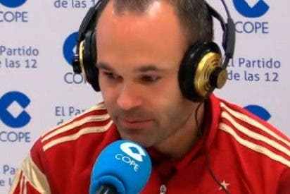 """Iniesta habla claro: """"No me gustaría que se pitara el himno"""""""