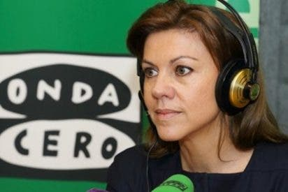 """María Dolores de Cospedal: """"Ni me he planteado ni me planteo dejar mi responsabilidad como secretaria general"""""""