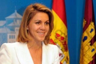 María Dolores Cospedal pide desalojar del estadio a los que piten el himno nacional