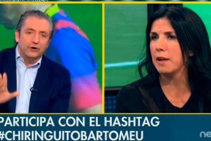 """Pedrerol rebaja los humos a Cristina Cubero: """"Estás siendo faltona, tú no das el carnet de español"""""""