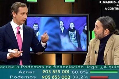 Carlos Cuesta le arma la marimorena al podemita Martínez por defender el chavismo