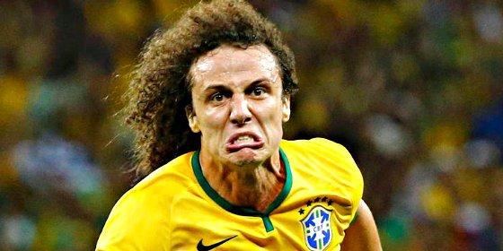 David Luiz pega a Ibrahimovic