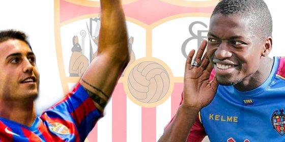 El Sevilla se fija dos objetivos en el Levante