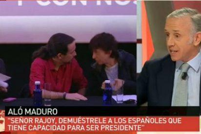 """Eduardo Inda: """"Iglesias quiere meter a Tania con calzador como Aznar hizo con Botella"""""""