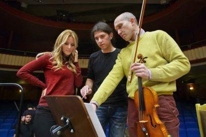 Edurne graba en versión sinfónico-coral de 'Amanecer' con Orquesta y Coro de RTVE