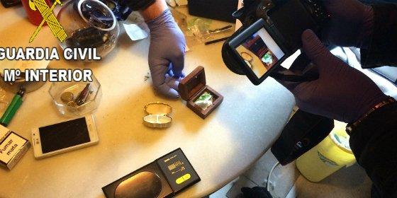 Erradicado un punto de venta de drogas al por menor en la localidad de Coria (Cáceres)