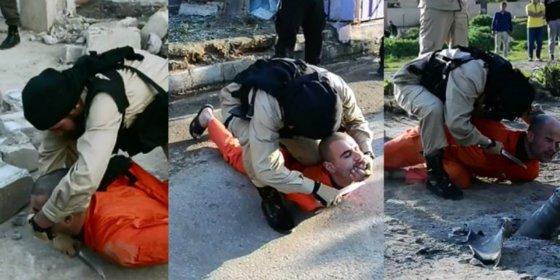 [Vídeo sin censura] El Estado Islámico decapita a tres militantes kurdos