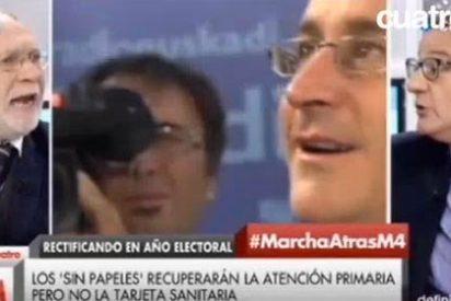 """José Alejandro Vara se burla del forofismo anti-PP de Ernesto Ekáizer y le acaba tildando de """"fondo sur"""""""
