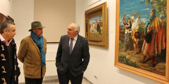 El Costurero acoge una muestra de 21 óleos del pintor emeritense Manuel Coronado Aza