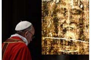 El papa rezará ante la Sábana Santa de Turín el 21 y 22 de junio