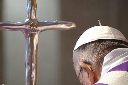 """El Papa en una parroquia romana: """"¿Cuál es el látigo con el que limpia Jesús? La misericordia"""""""