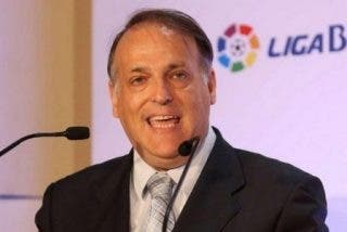 """Javier Tebas (LFP), partidario de la """"suspensión"""" de la final de Copa si se pita al himno o al Rey"""