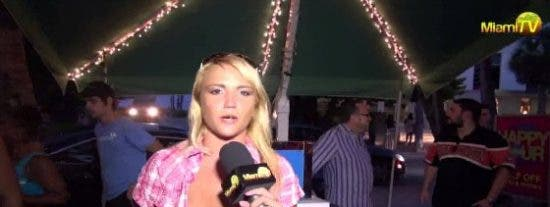 ¿Quieres ser presentadora de Miami TV en España enseñando las tetas?