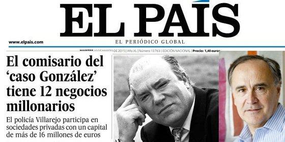 """La pregunta de Villarejo a Javier Ayuso, de El País: """"¿Lo haces como periodista o como emisario del CNI?"""""""