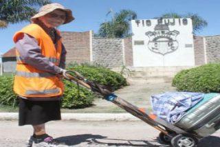 Emma Moronsini, la italiana de 91 años que recorrió 1.200 km a pie hasta la Basílica de Luján