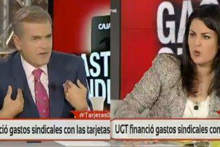 """Ketty Garat le mete un hachazo a Encinas por defender al sindicalista """"benedictino"""" de la tarjeta black"""