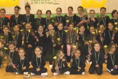 Niñas de la Escuela Deportiva de Gimnasia de Moraleja acuden a la XVI Gimnastrada
