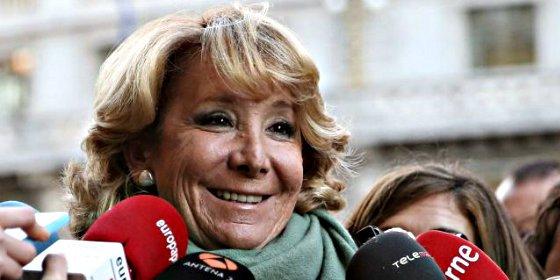 Esperanza Aguirre saca las uñas y gana a los 'aparatchicks' populares la primera batalla de Madrid