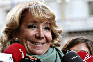 """Esperanza Aguirre respalda a Ignacio González: """"Ha demostrado con documentos todo su patrimonio"""""""